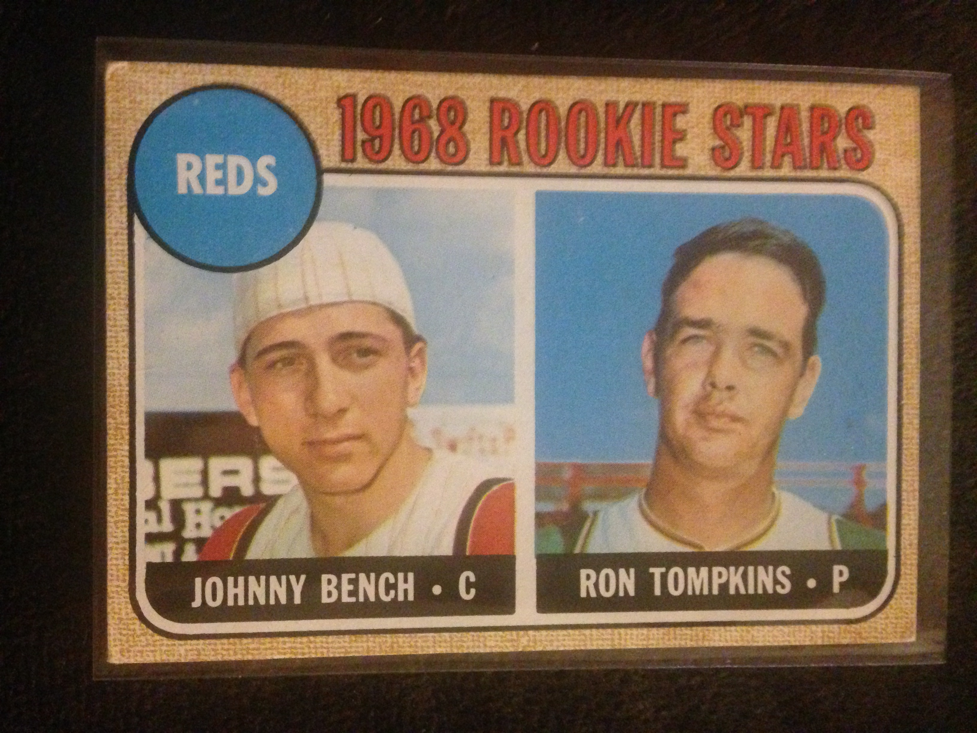 Lot Detail 1968 Topps Johnny Bench Rookie