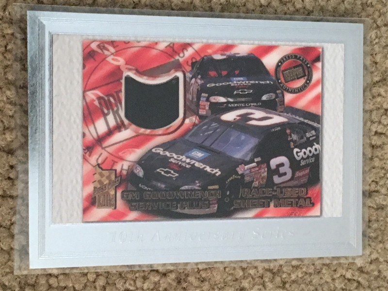 DALE EARNHARDT 10th ANNIVERSARY SERIES