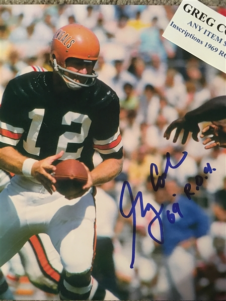 GREG COOK MOELLER SIGNED SHORTLY BEFORE HIS DEATH with SHOW TICKET. Super Rare!