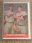 DODGERS SOUTHPAW 1961 TOPPS #207 with $$$ SANDY KOUFAX $$$