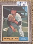 EARLY WYNN 1961 TOPPS #455 Bk $15.00- $45.00