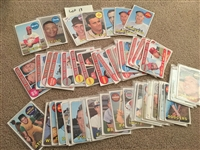 Lot of 1969 TOPPS with REDS and HALL OF FAMERS, ROOKIES, SPECIALS, SEMI High # $$