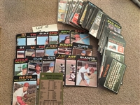 Lot of 1971 TOPPS with 18 VARIOUS CONDITION HALL of FAMERS and Rare Card #1 $$$