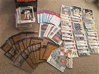 Over 200 1973 BASEBALL with 22 High $$$ High #s, 45 HALL of FAMERS Gotta Bk $300-$500