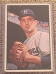 1953 BOWMAN COLOR. Best Break Ever $$50.00-$150.00   CARL ERSKINE #12