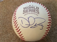 DAVID ROSS BOLD SIGNED on Gem Mint 2016 World Series BALL in CUBE $150+ on eBay