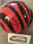 ICKEY WOODS BENGALS SIGNED MINI HELMET with TRISTAR COA 1000% REAL SIGNATURE