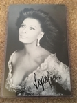 SOPHIA LOREN SIGNED 4x6 PHOTO with $20 JSA COA
