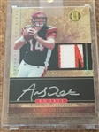ANDY DALTON AUTO 2011 ROOKIE PANINI GOLD STD w 5 COLOR PATCH .. Sold $40 eBay 2019