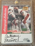 ANTHONY MUNOZ AUTO FLEER GREATS of the GAME ---STUNNING BEAUTY !!!