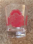 OHIO STATE BUCKEYES SHOT GLASS -- MINT CONDITION
