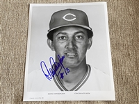 DAVE CONCEPCION Signed Team Issued 8x10
