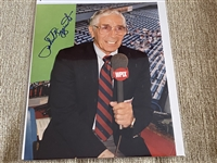 PHIL RIZZUTO Signed 8x10 HOLY COW