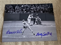 BERNIE CARBO & RAWLY EASTWICK Moeller Signed 8x10