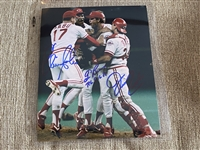 BROWNING REED & SABO Moeller Signed 8x10 PERFECT GAME