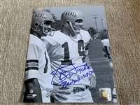 SAM WYCHE Our Private Signing Signed Inscribed 8x10